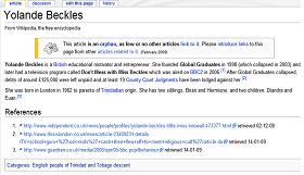 Yolande Beckles has a spartan wikipage