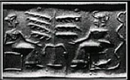 Il cilindro sumerico della tentazione di Eva