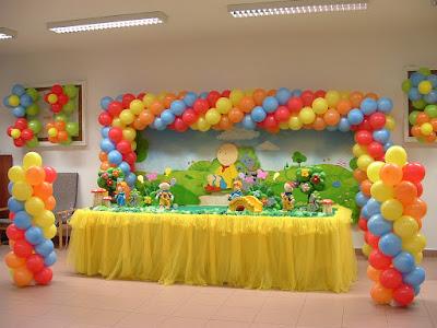 dicas para decoração com balões