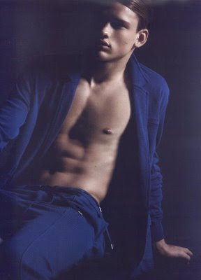 Male Model Simon Nessman