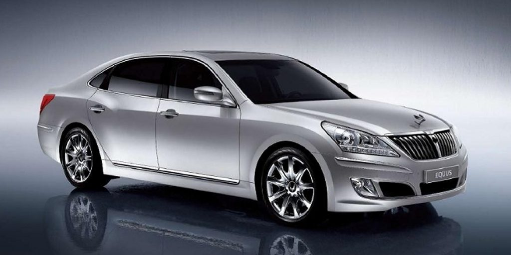 The 2011 Hyundai Equus Hyundai surprised the automotive world when displayed