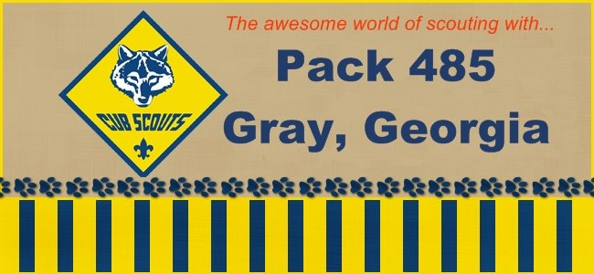 Pack 485 - Gray, Georgia