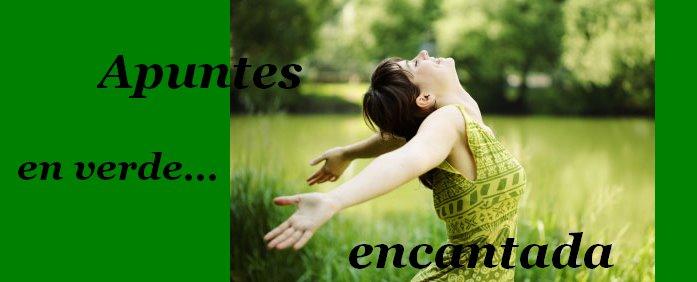 Apuntes en verde encantada