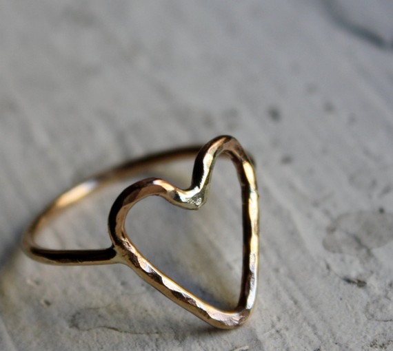 Jordan Askill Heart Ring Dupe