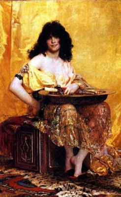 'Salome' by Henri Regnault, French. Oil, 1870.