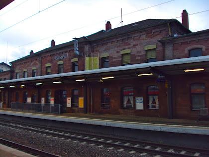 .Train stations.