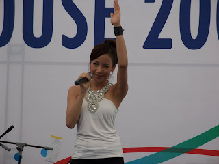 Fiona Xie Singing at Navy Open House 2007 - Picture 6