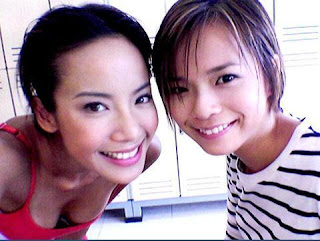 Hot Fiona Xie with Sweet Felicia Chin