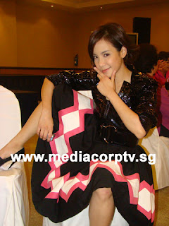 Fiona Xie at Press conference, acting tomboy
