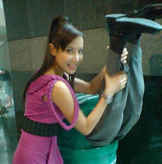 Playful Fiona Xie