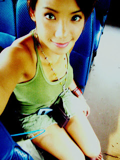 fiona xie on the bus