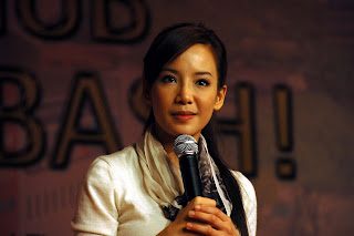 Fiona Xie at AMK Hub Opening - 04