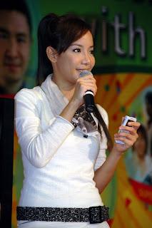 Fiona Xie at AMK Hub Opening - 07
