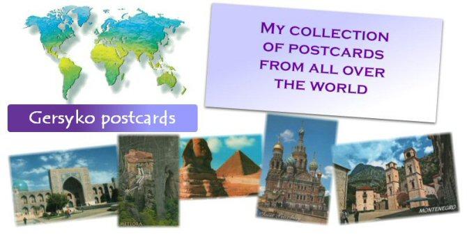 Gersyko postcards