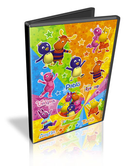 Download – DVD Backyardigans Clipes Musicais Dvdrip 2010