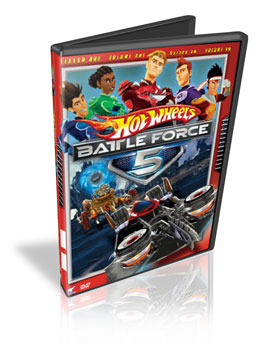 Download Hot Wheels Battle force 5 dublado DVDR 2010 (Dual Áudio)