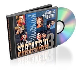 Download CD O Melhor do Sertanejo Universitário Vol. 3 2011