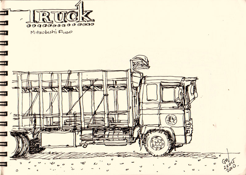 lorry sketcher