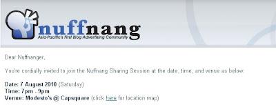 nuffnang invitation