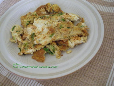 Fried Eggs With Preserved Turnip Recipe — Dishmaps