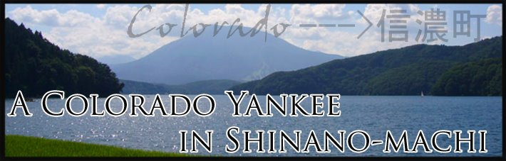 A Colorado Yankee in Shinano-Machi