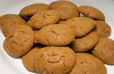 recettes  Galettes à la mélasse et au gingembre