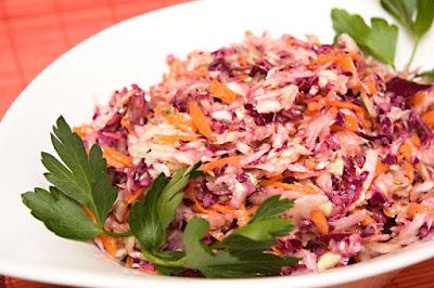 Salade de chou aux fines herbes DSC_1030