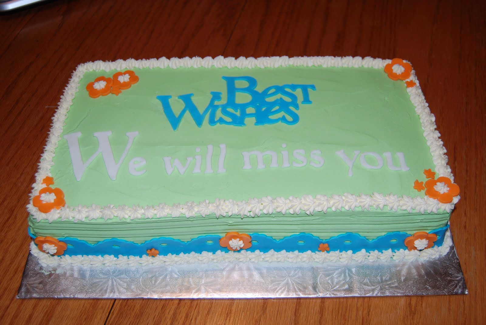 Goodbye Cake Images : Farewell Cake To Cake Ideas and Designs