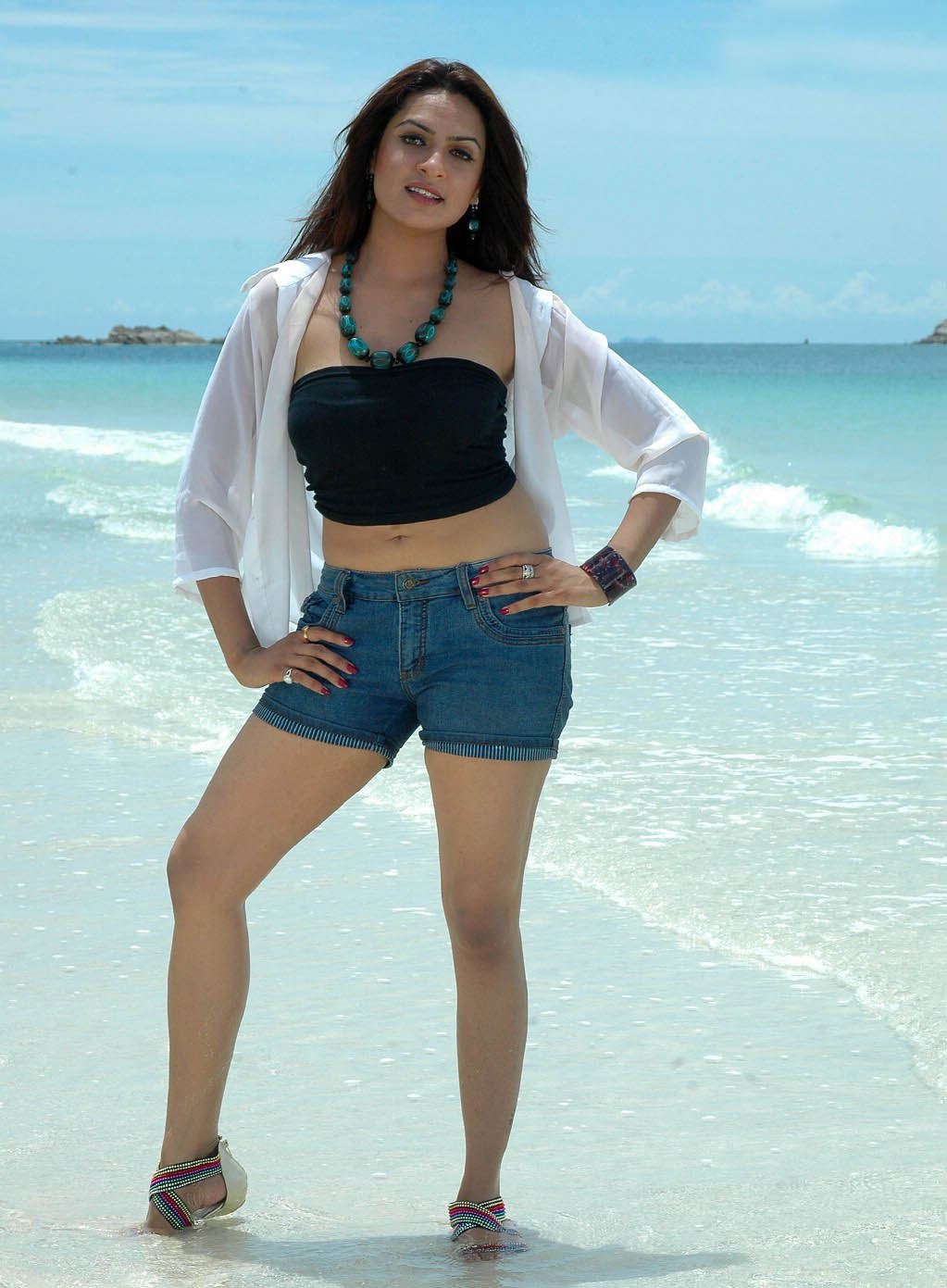 hot-imagehosting: Aditi agarwal hot beach stills