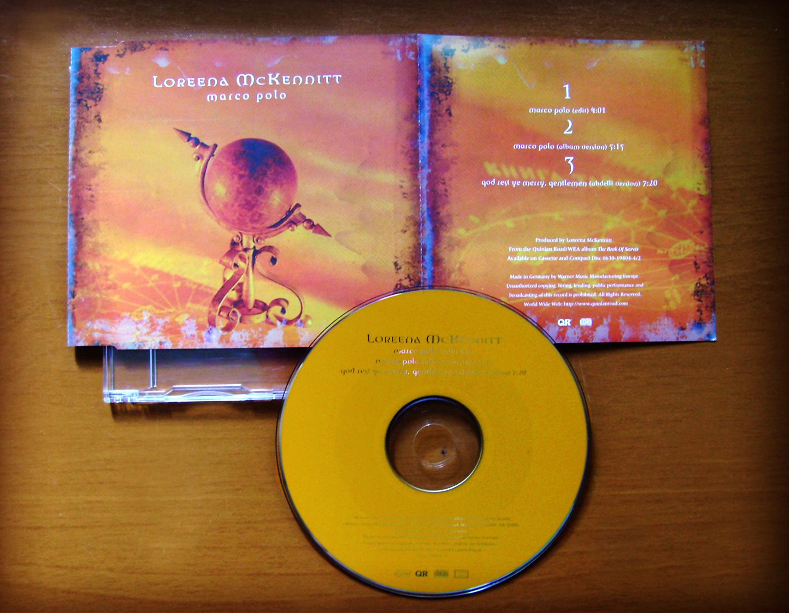 loreena mckennitt collection 1998 marco polo single