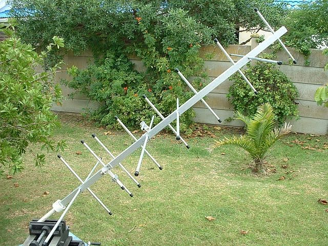 how to build a satellite antenna