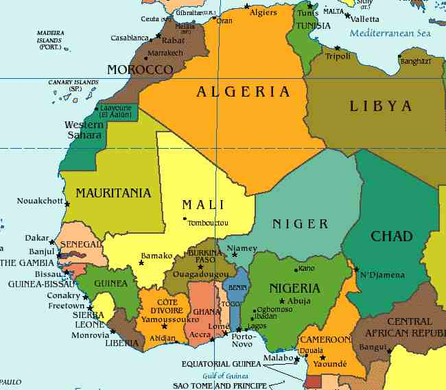 blank map of africa countries. lank map of africa countries.