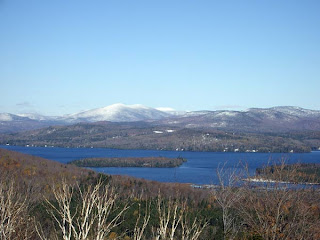Overlooking Rangeley Lake