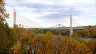 Penobscot Narrows Bridge, Maine - October 20009