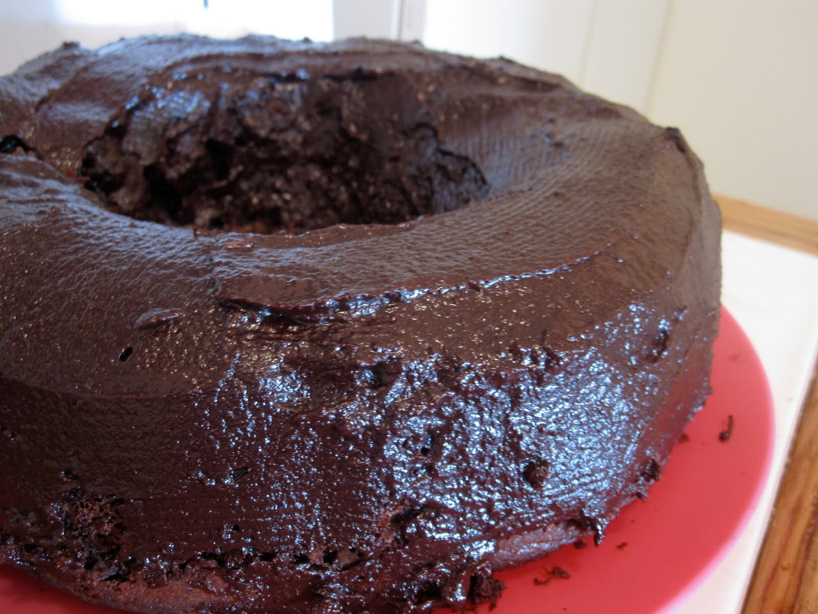 Just Putzing Around the Kitchen: Chocolate Coffee Ice Cream Cake