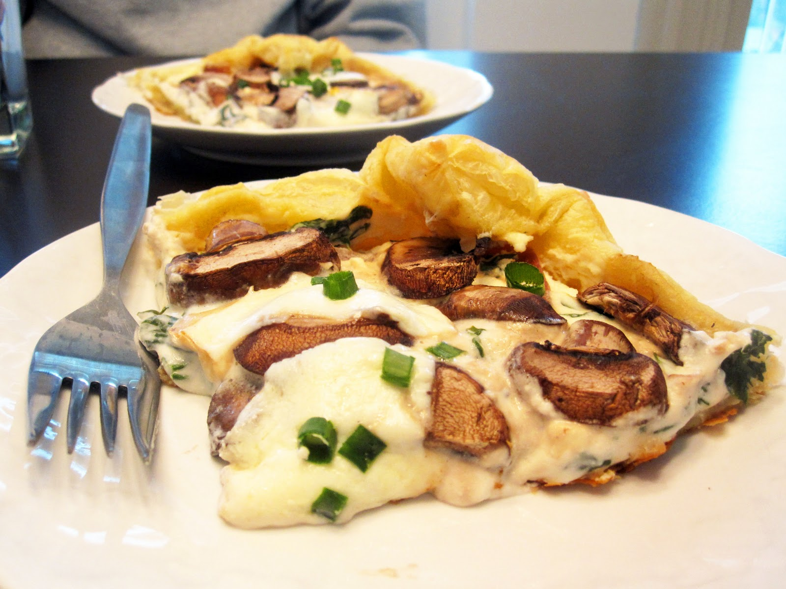 Mushroom Tart