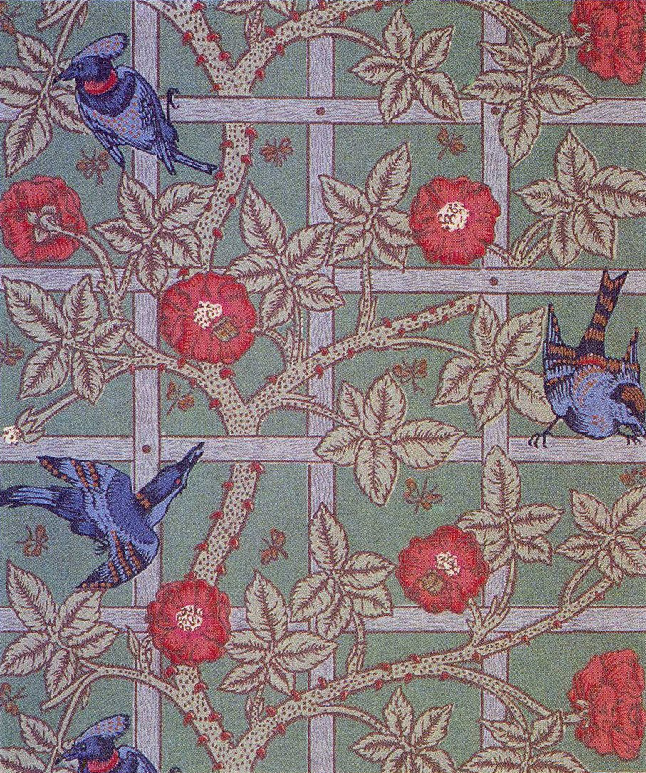 william morris wallpaper on William Morris Wallpaper   Wallpaper Fever