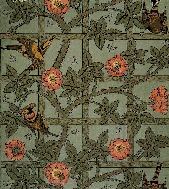 william morris wallpaper on Design Decoration Craft  William Morris Wallpapers