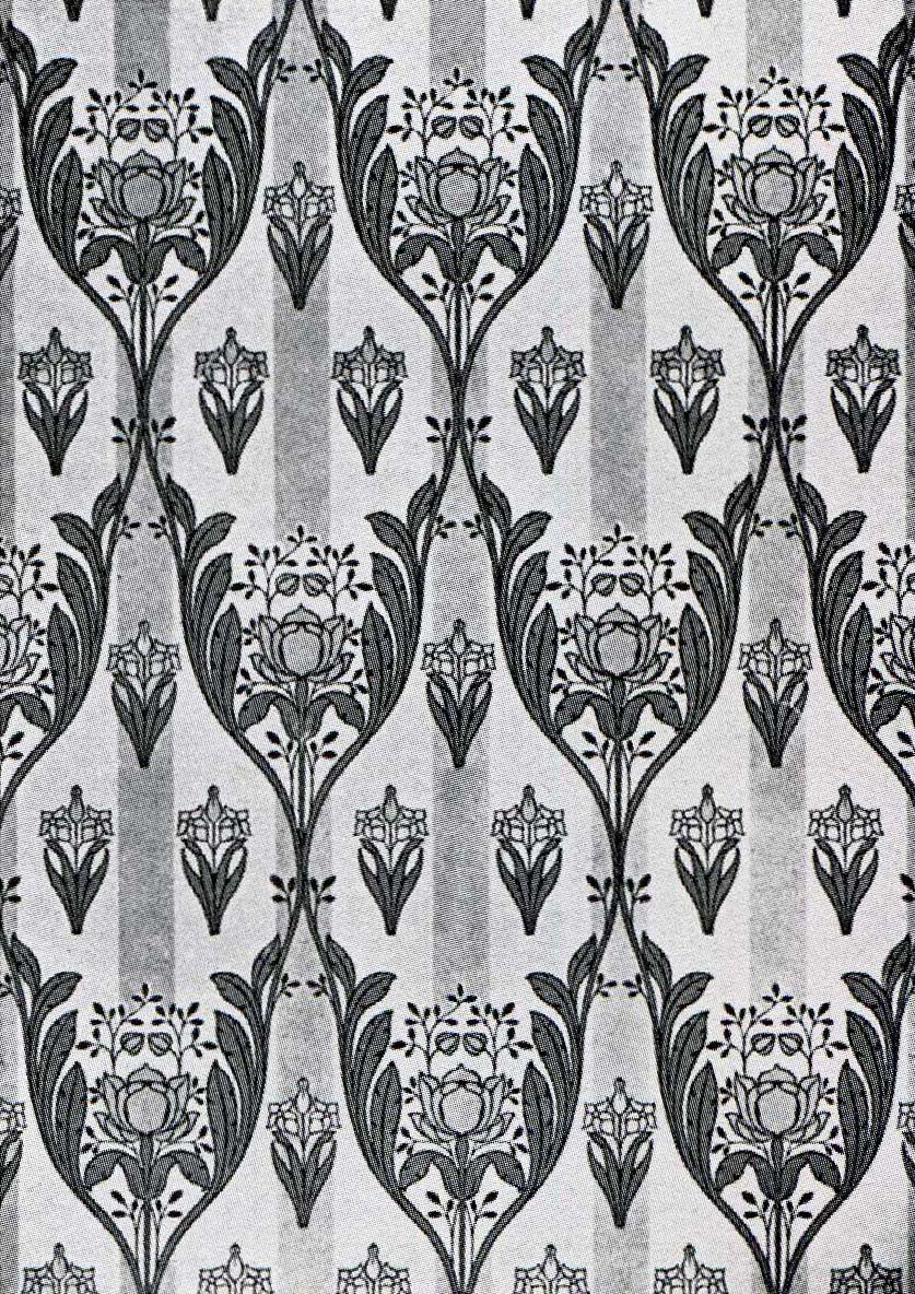 Design gardens art nouveau noveau art wallpaper designs for Art nouveau shapes