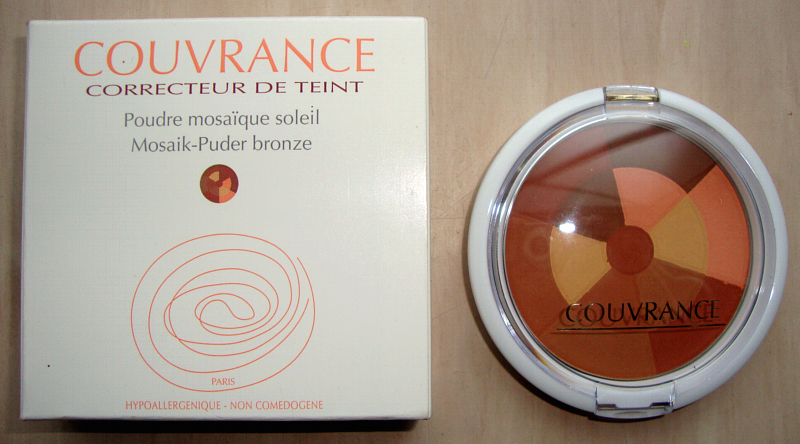 brunette goddess beauty blog avene couvrance mosaikpuder bronze. Black Bedroom Furniture Sets. Home Design Ideas