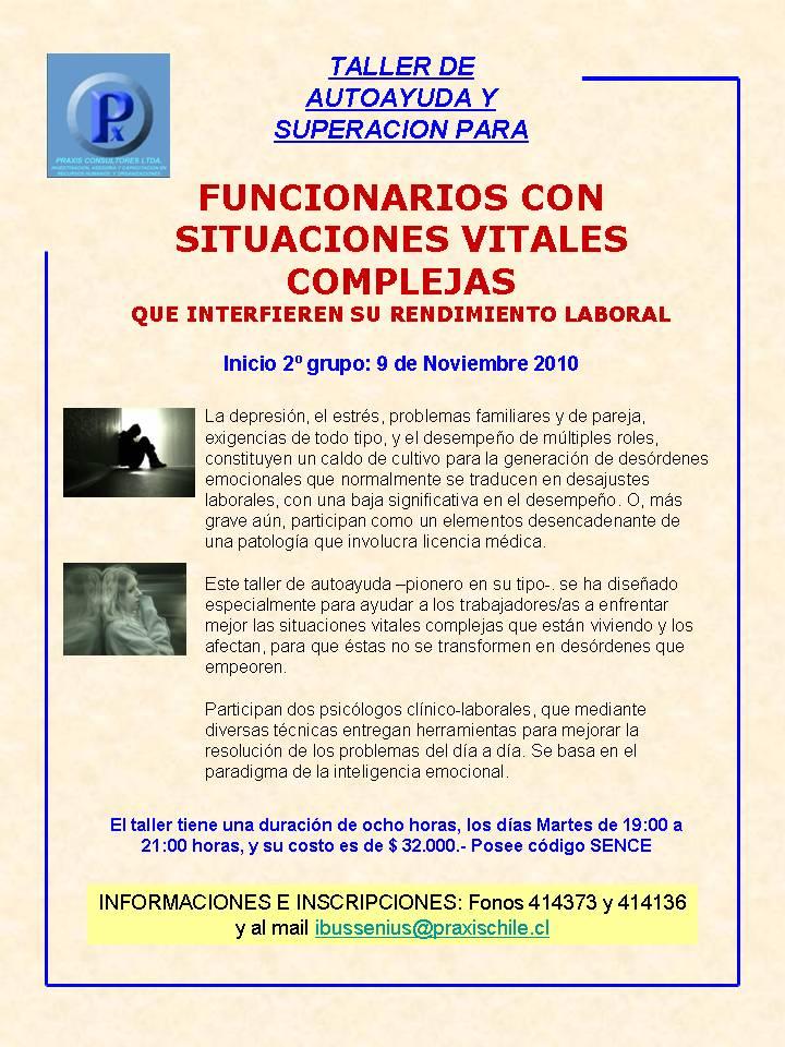 Psicologia laboral praxis ltda taller de autoayuda y - El taller de pinero ...