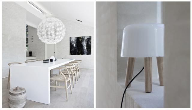 albacrea maskros lampe i milj. Black Bedroom Furniture Sets. Home Design Ideas