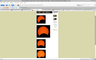 gambar gerhana matahari 2010