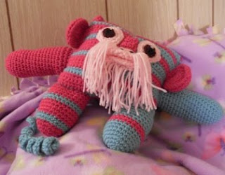 zipper funmigurumi monkeyroo crochet pattern