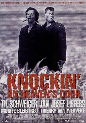 Knockin' on a heaven's door, somewhere, beyond the sea