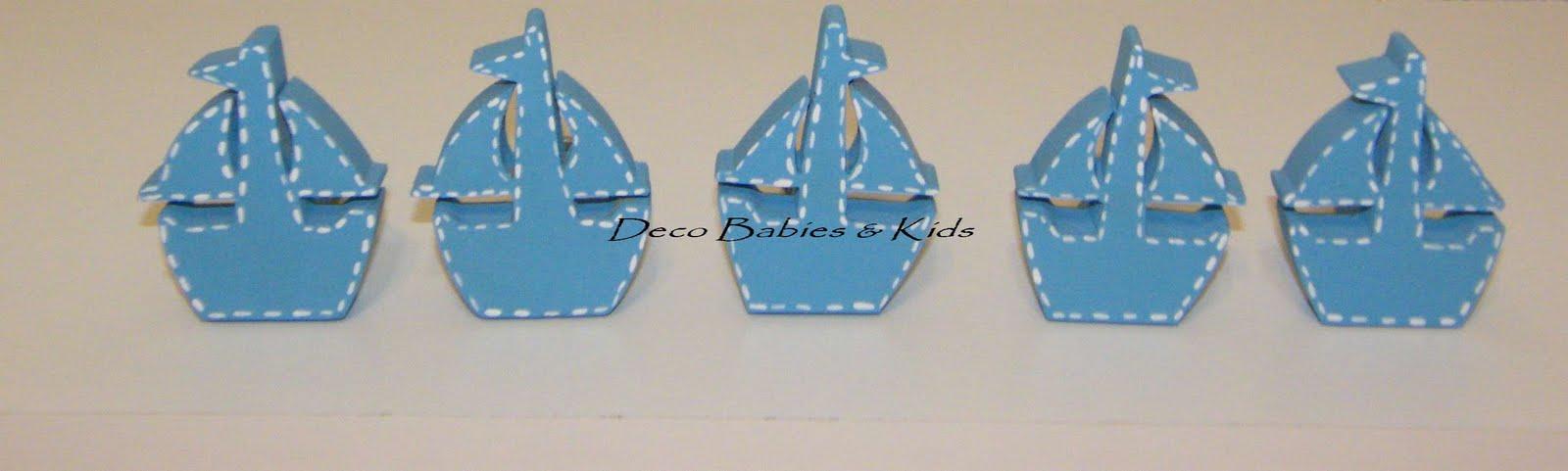 Deco babies kids tiradores de cajones de madera veleros - Tiradores cajones infantiles ...