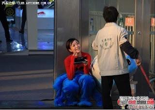 gadis maskot china 22 Gadis Maskot Comel Yang Menyentuh Hati