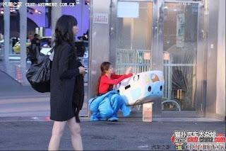 gadis maskot china 19 Gadis Maskot Comel Yang Menyentuh Hati