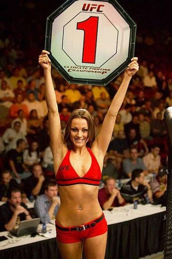 UFC Ring Card Girl Amber Miller