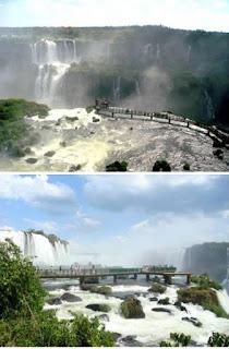 Platform Gantung Air Terjun Iguazu (Brasil dan Argentina)